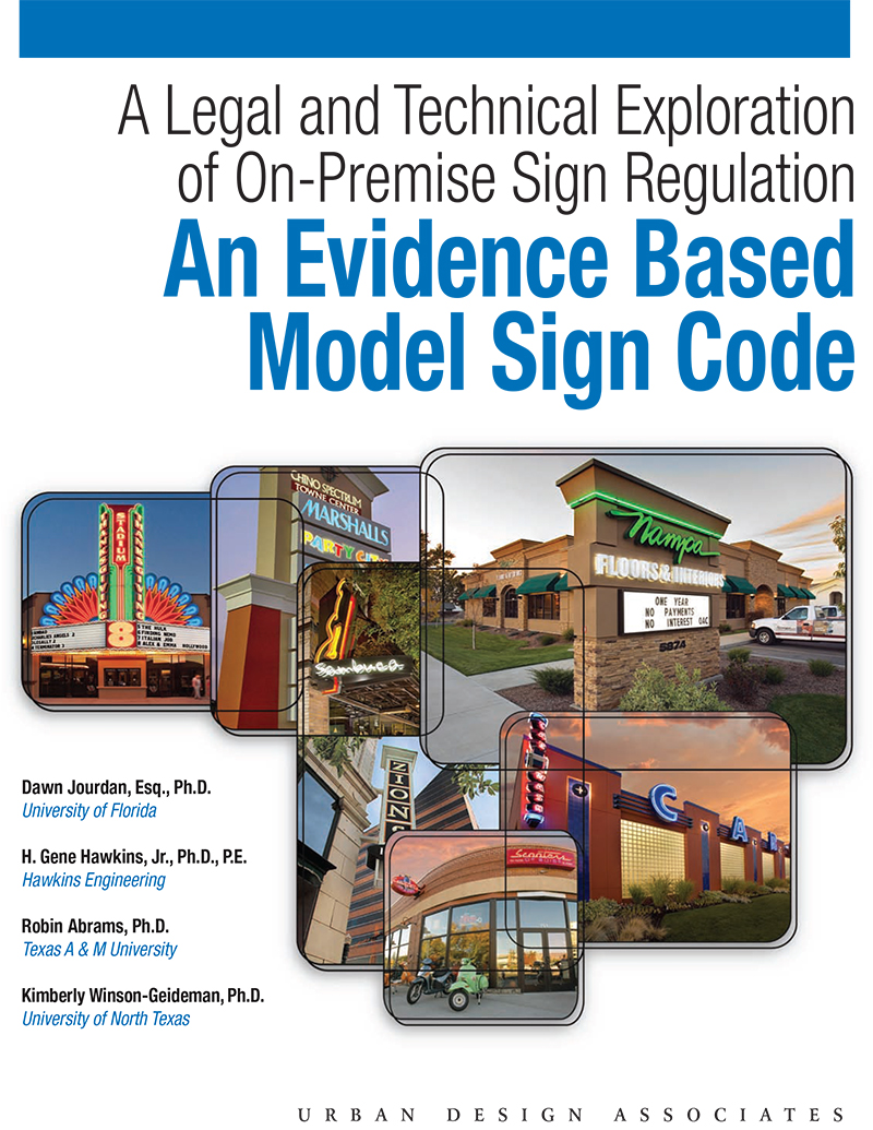 Model Sign Code Legal Tech Exploration On Premise Sign Regs 1
