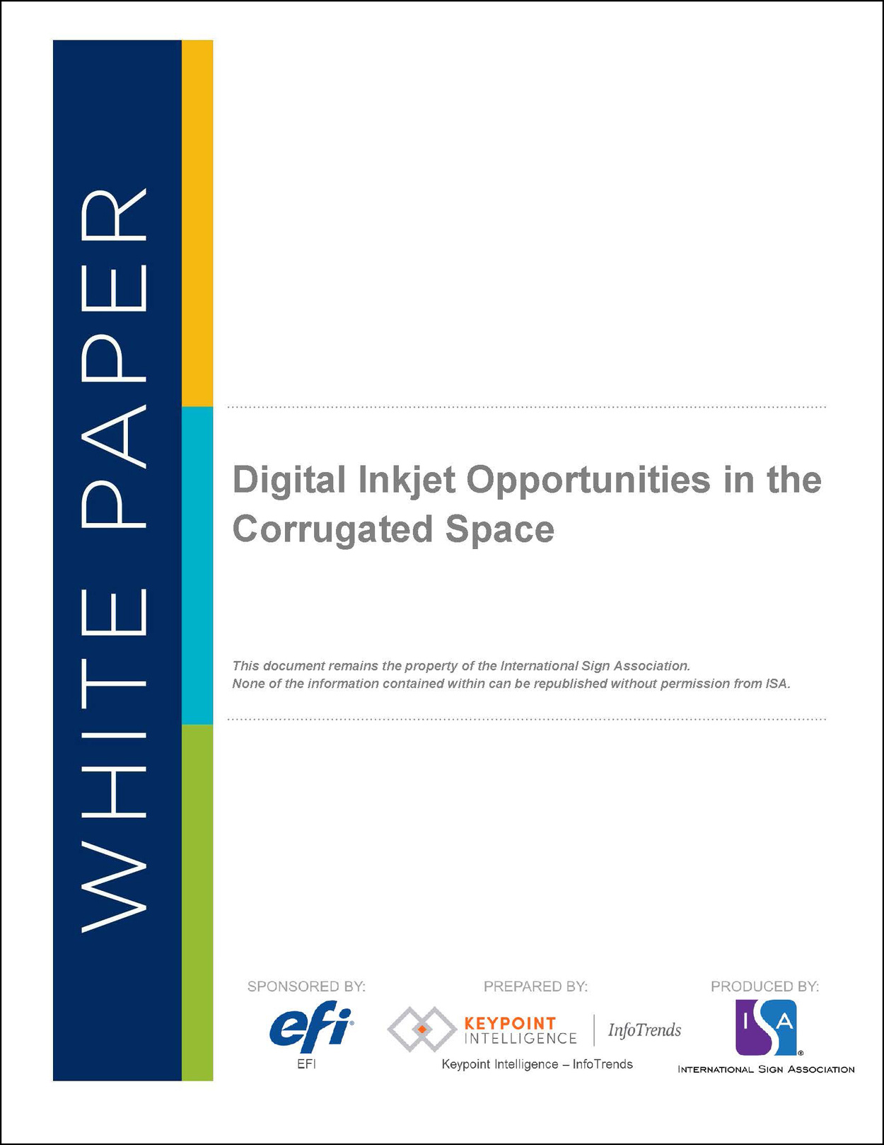Digital Inkjet Opportunities in the Corrugated Space