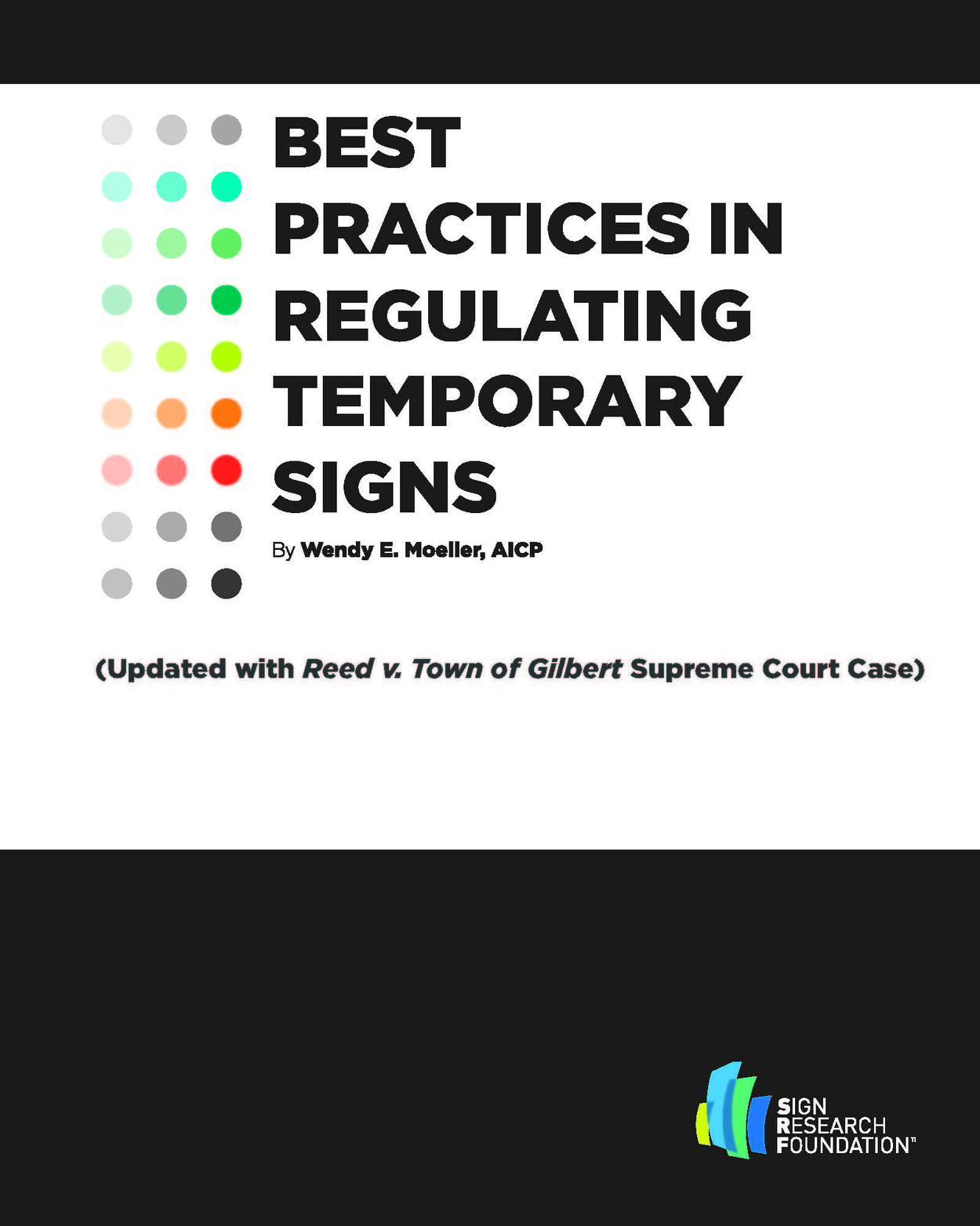 Best Practices in Regulating Temporary Signs SRF