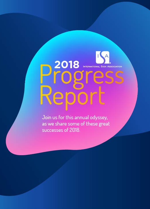 Isa 2018 Progress Report Cover Image