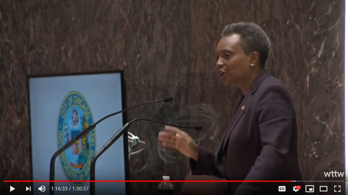 Lori Lightoot Budget Address