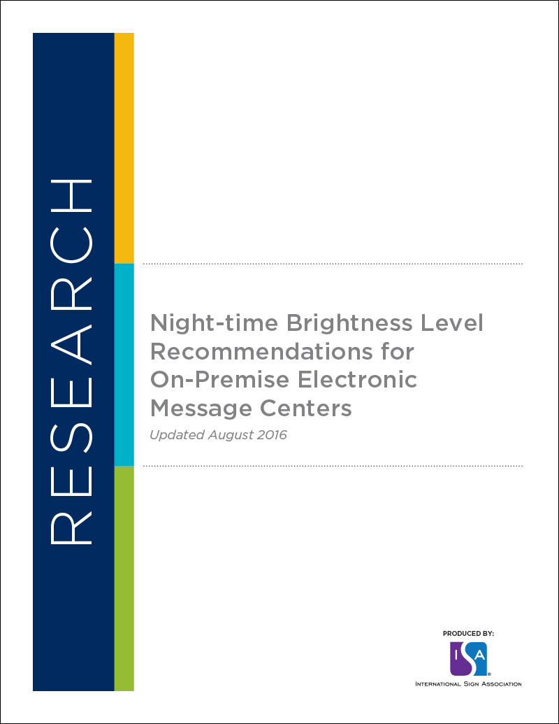ISA Brightness Recommendations for EMCs