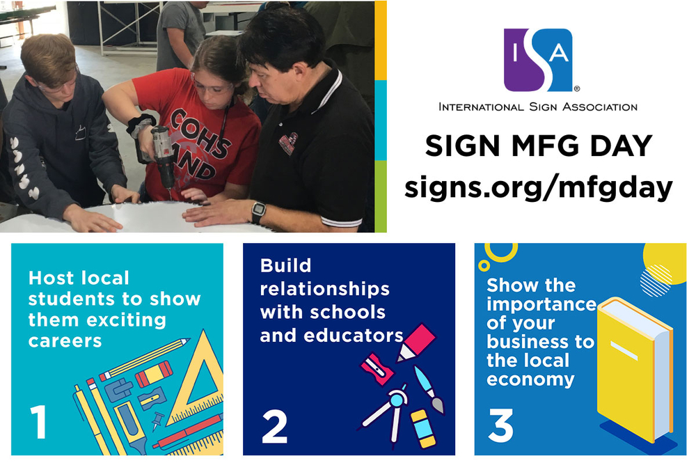 Sign Mfg Day Social Graphic