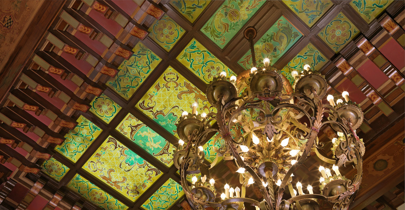 Grand Lobby Ceiling By Trey Clark